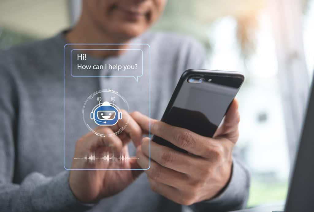 As chatbots são softwares que permitem que um cliente converse com uma marca 24/7, sem a necessidade de interação humana.